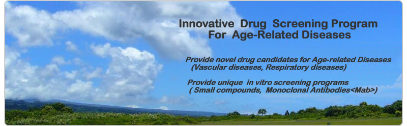 Innovative  Drug  Screening Program For  Age-Related Diseases